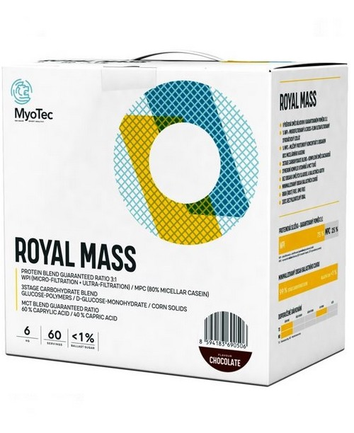 Myotec Royal Mass 6000 g + šejkr ZDARMA