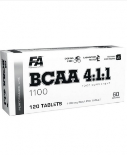 Fitness Authority BCAA 4:1:1 120 tablet