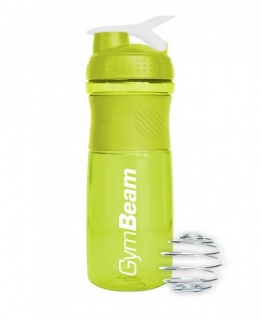 Šejkr Sportmixer Green White 760 ml - GymBeam