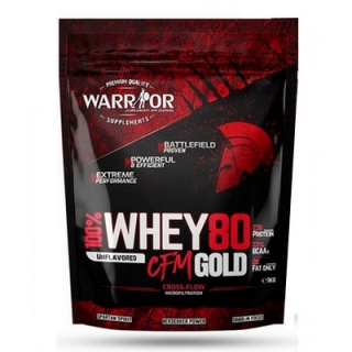Warrior whey wpc80 cfm gold 1000g