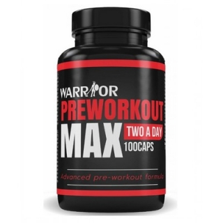 Warrior Max Preworkout 100 cps