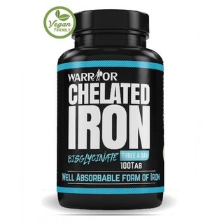 Warrior Chelated Iron 100 tbl